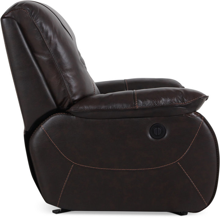 Dante Leather Power Recliner 4