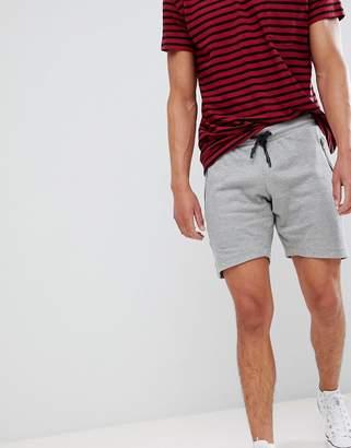 Brave Soul Waffle Jersey Shorts