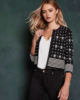 Ted Baker DENNISA Stars and Stripes cardigan
