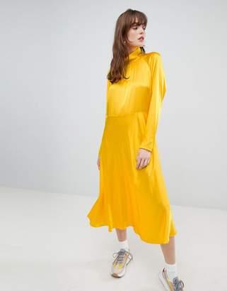 Mads Norgaard Dromma Satin Dress