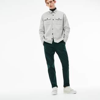 Lacoste Men's LIVE Print Stretch Cotton Twill Chino Pants