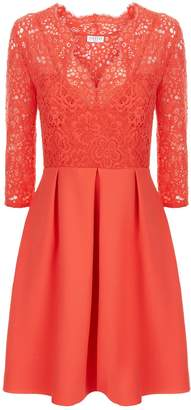 Claudie Pierlot Lace A-Line Mini Dress