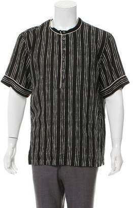 Dolce & Gabbana Striped Silk Shirt