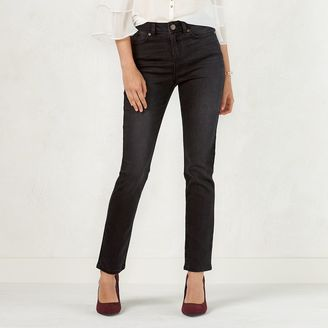 Women's LC Lauren Conrad High Rise Skinny Jeans $50 thestylecure.com
