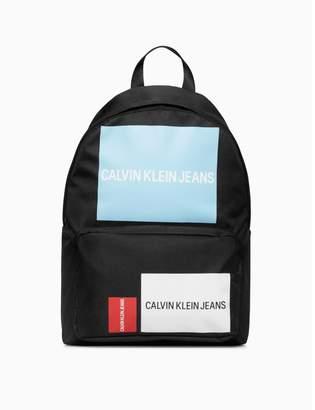Calvin Klein sport essentials logo campus backpack