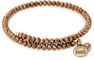Alex and Ani Brilliance Copper Spark Expandable Wrap Bracelet
