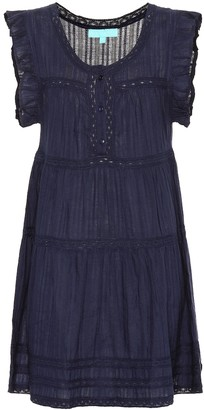 Melissa Odabash Rebekah cotton minidress