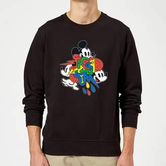 Disney Mickey Mouse Vintage Arrows Sweatshirt