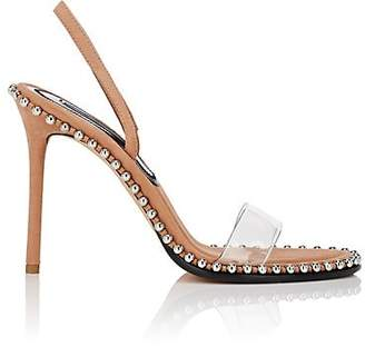 22cc77e7ac5 Alexander Wang Women s Nova Leather   PVC Sandals - Beige