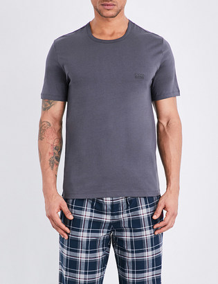 Hugo Boss Crewneck pack of three cotton-jersey t-shirts $42 thestylecure.com