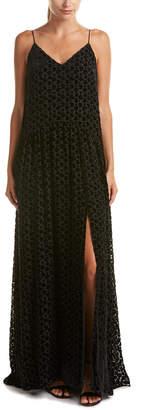Jill Stuart Silk-Blend Maxi Dress