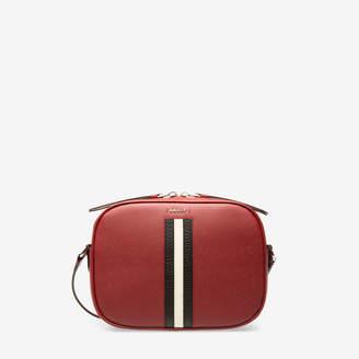 Bally Sastrid Red, Women's Saffiano leather minibag in garnet
