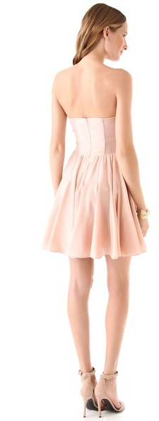 Rebecca Taylor Perfect Fit Strapless Dress