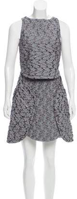 Antonio Berardi Sleeveless Brocade Dress