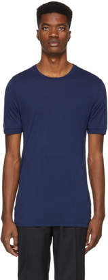 Neil Barrett Blue Double Cuff T-Shirt
