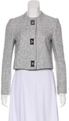 Proenza Schouler Collarless Long Sleeve Jacket