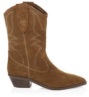 Rebecca Minkoff Women's Kaiegan Suede Cowboy Boots