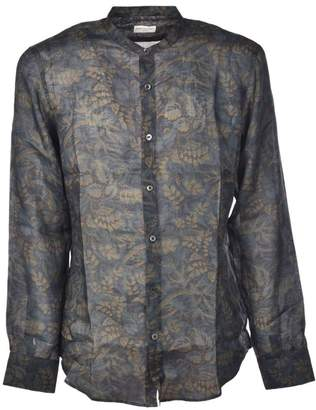 Dries Van Noten Leaf Printed Shirt