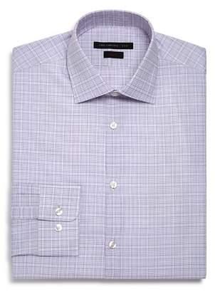 John Varvatos Checked Graph Slim Fit Dress Shirt