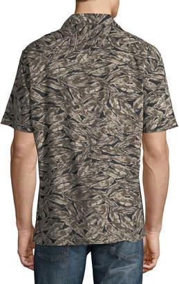 Antony Morato Camo Feather Short-Sleeve Sport Shirt