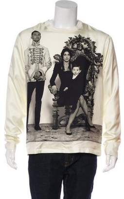 Dolce & Gabbana Silk Family Portrait T-Shirt w/ Tags