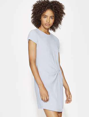 Halston WRAP DRAPE DRESS