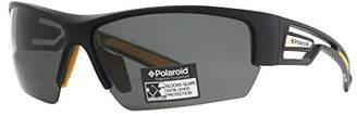 Polaroid P7410S Polarized Wrap Sunglasses