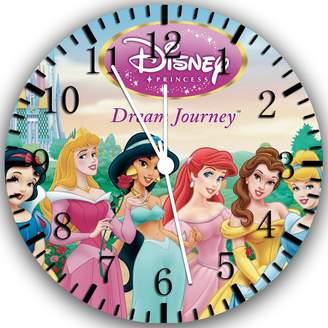 "Rusch Disney princess Wall Clock 10"" Will Be Nice Gift and Room Wall Decor W228"