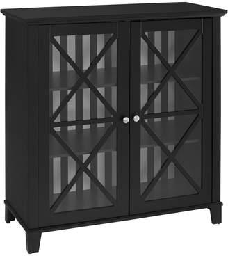 Linon Rapture Awning Stripe Large Cabinet