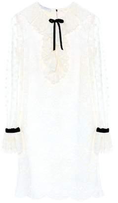 Philosophy di Lorenzo Serafini Lace cotton-blend dress