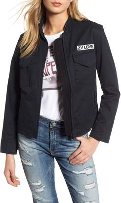 Zadig & Voltaire Kavy Spi Embroidered Jacket