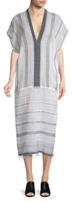 Lemlem Saba Striped Long Caftan