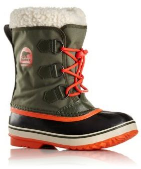 Sorel Toddler's & Kid's Yoot Pac Faux Fur-Cuff Snow Boots $75 thestylecure.com