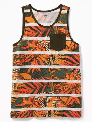 Old Navy Striped Printed Pocket Tank for Boys