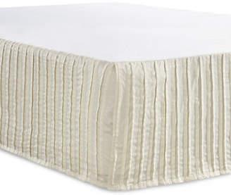 GLUCKSTEINHOME Berkeley Textured Bed Skirt