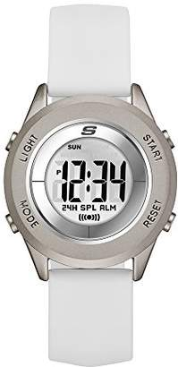Skechers Women's Wiseburn Digital Metal and Silicone Chronograph Watch