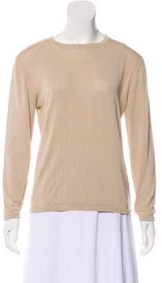 TSE Silk Long Sleeve Sweater