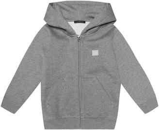 Acne Studios Kids Mini Ferris Face cotton hoodie