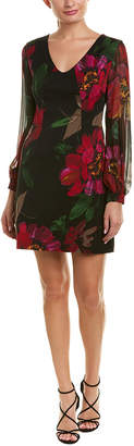 Trina Turk Gibb Silk-Blend Cocktail Dress