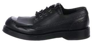 Gucci Kiltie Leather Brogues