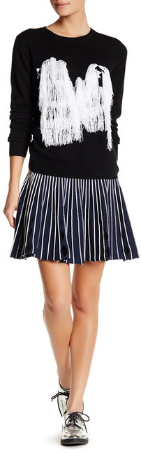 Opening Ceremony Opening Ceremony Striped Flared Skirt