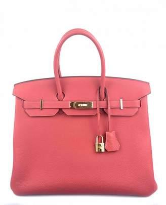 Hermes Birkin 35 leather satchel