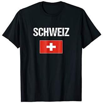 Switzerland T-shirt Swiss Flag For Men/Women/Youth/Kids
