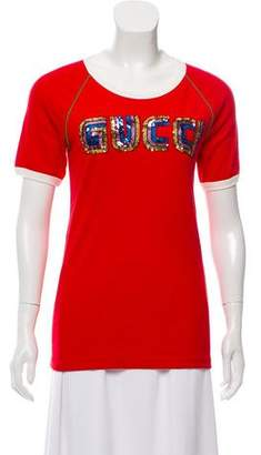Gucci 2018 SEGA Sequin Appliqué T-Shirt w/ Tags