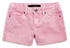 Joe's Jeans Girls' The Markie Fit Mid-Rise Denim Shorts - Big Kid