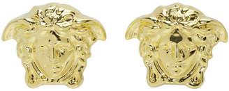 Versace Gold Small Medusa Earrings