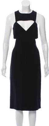 Michael Kors Sleeveless Cutout Dress