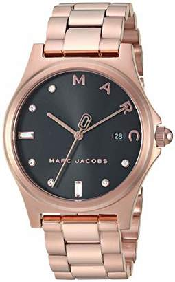 Marc Jacobs Women's 'Henry' Quartz Stainless-Steel-Plated Casual Watch