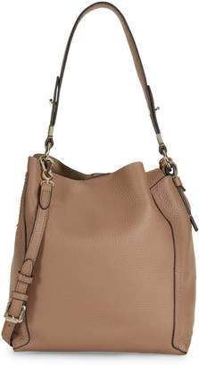 Vince Camuto Small Grained Leather Hobo Bag