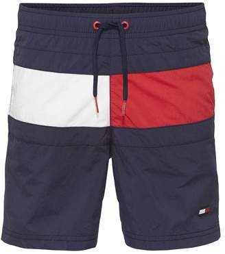 aea7b0ab478455 Tommy Hilfiger Boys Boys Flag Drawstring Swim Short - Blue